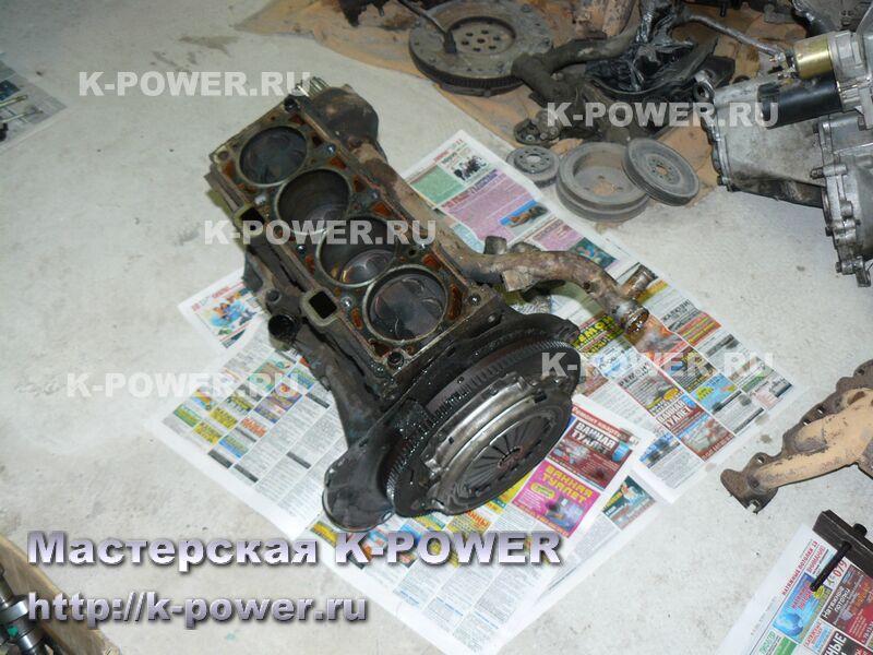 ремонт двигателя ВАЗ 21124