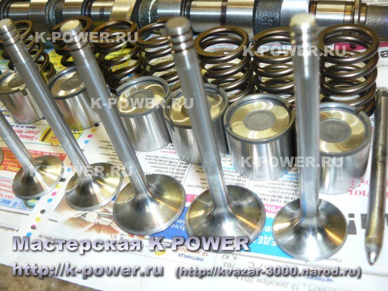 Замена пружин клапанов на более жесткие