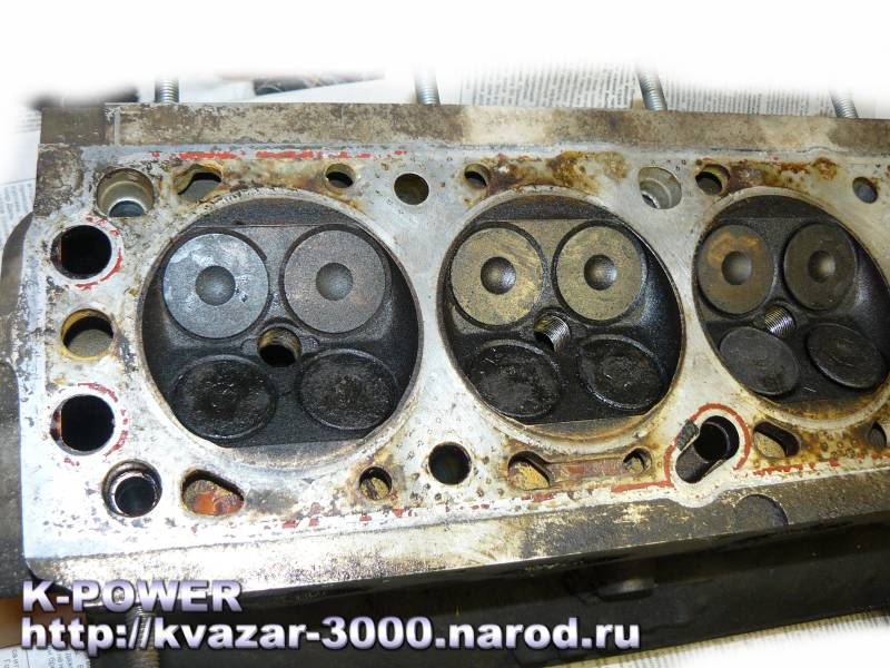 опель вектра 1,8 галовка ремонт