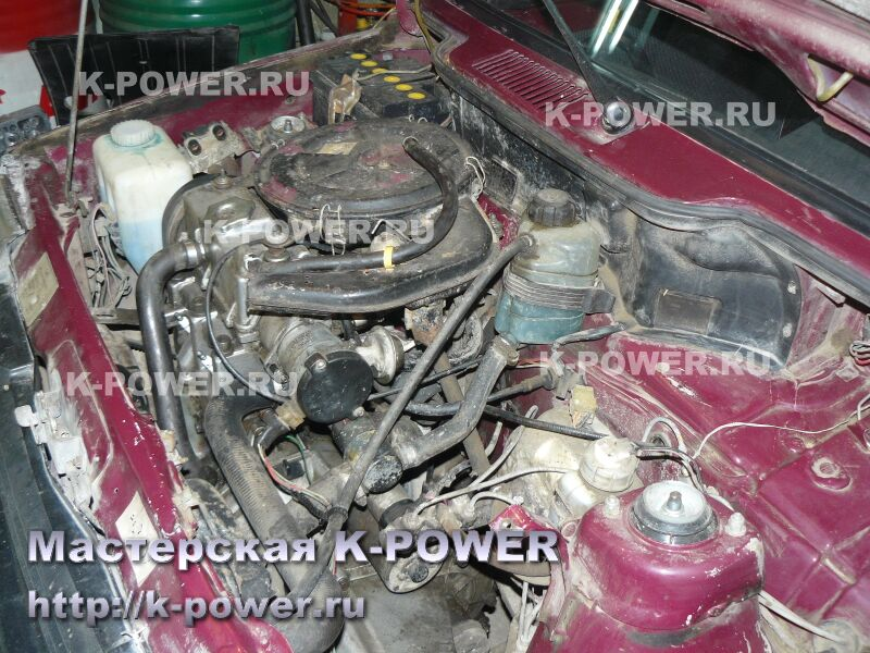 Инжекторный двигатель ОКА-